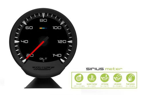 Greddy Sirius Meter - Analog Oil Temp Gauge