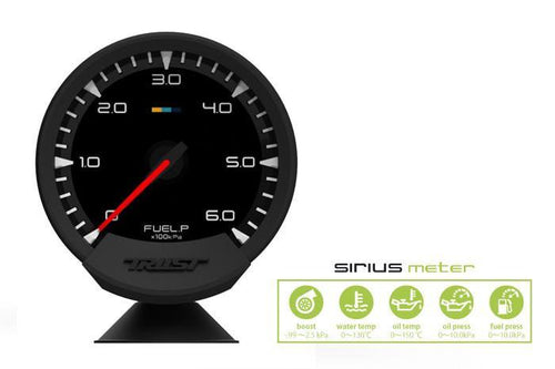 Greddy Sirius Meter - Analog Fuel Press Gauge