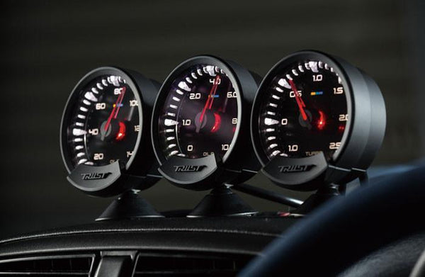 Greddy Sirius Meter - Analog Water Temp Gauge