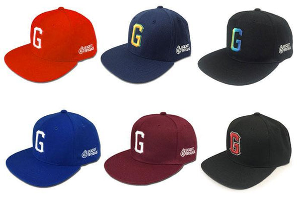 "GReddy ""G"" Snap-Back Cap - Black / White"