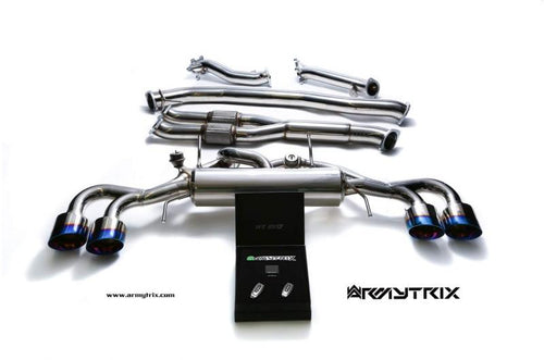 ArmyTrix Valvetronic 90mm Exhaust: Nissan R35 GT-R