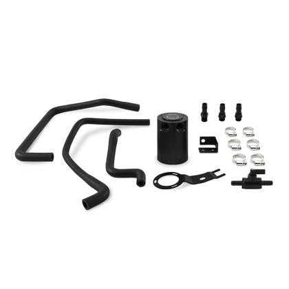 Mishimoto 2016+ Mazda Miata Baffled Oil Catch Can Kit - Black