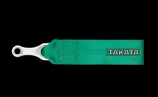 Takata Racing: Tow Strap (Green or Black)