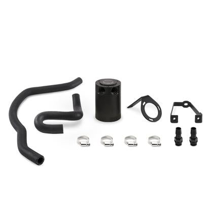 Mishimoto 2015+ Dodge Charger / 2015+ Chrysler 300C 6.4L Direct Fit Oil Catch Can Kit - Black