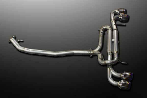 MINE's Pro Titan Competition Exhaust: NIssan 2009+ R35 GT-R