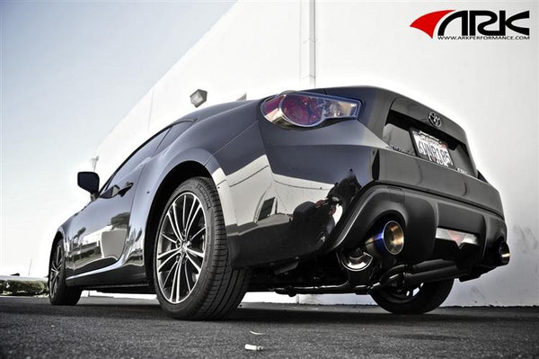 ARK Performance GRIP Exhaust - Scion FRS / Subaru BRZ / Toyota GT86