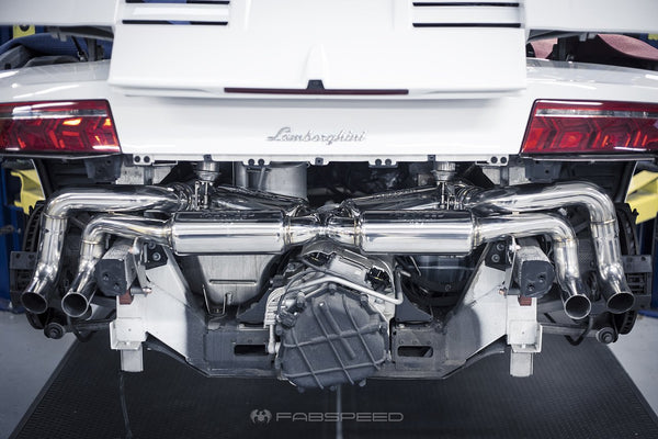 Fabspeed Valvetronic Supersport Exhaust: Lamborghini LP550 / LP560 / LP570