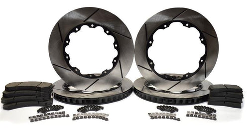 Racing Brake Replacement Rotor Kit 2009-2011 (CBA) Nissan R35 GT-R