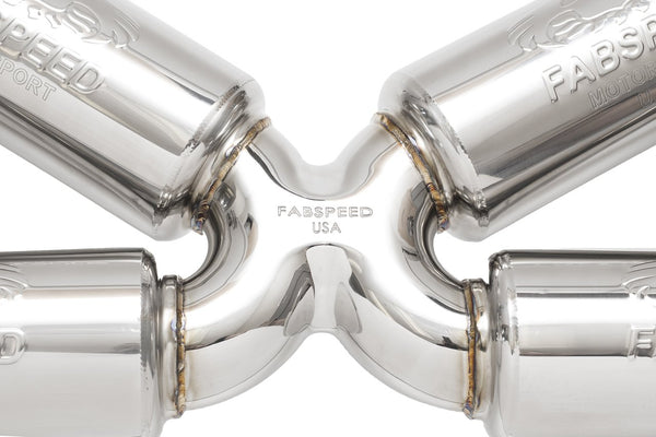 Fabspeed Valvetronic Supersport Exhaust: Audi R8 V10