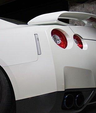 Nissan GT-R R35 JDM Clear Rear Side Markers (PAIR)