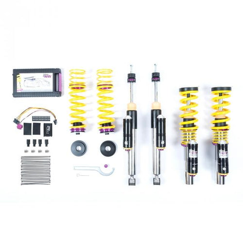 KW Suspension Variant 4 (V4) Coilovers - Lamborghini Aventador, incl. roadster; with electronic dampers 2011+