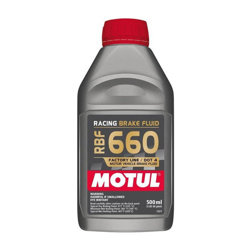 Motul RBF660 DOT 4 Brake Fluid