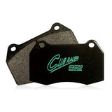 Project Mu Club Racer Brake Pads (Rear) - Acura CL 97-03 / Acura ILX 13-16 / Integra Type R 98-01 / Legend 89-95 / RSX 02-06