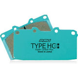 Project Mu HC+ Brake Pads (Rear) - Honda CR-Z 11-15 / Prelude 92-01 / S2000 00-09