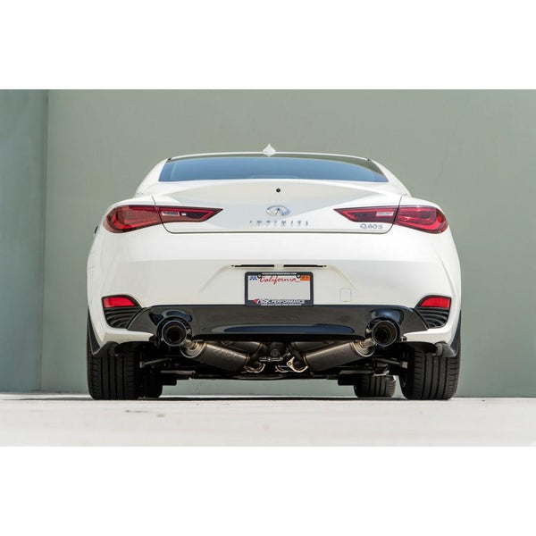 Ark Performance GRiP Exhaust - Infiniti Q60 3.0T / Red Sport 400 2016+