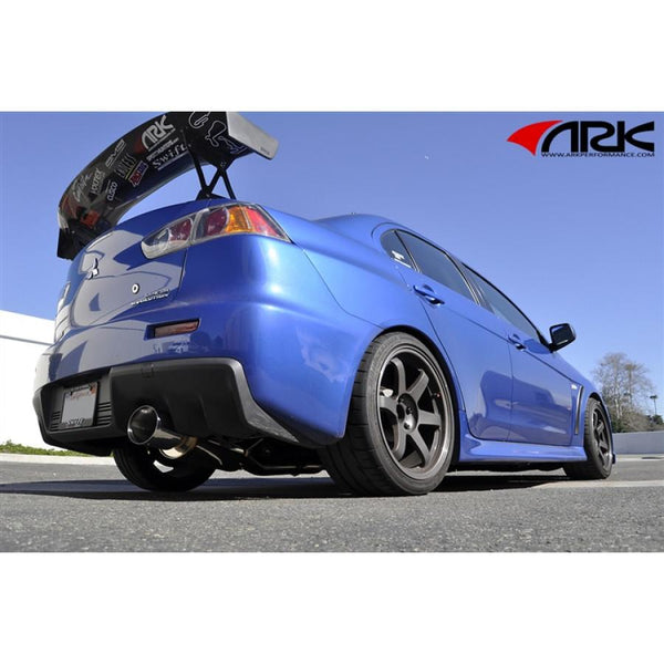Ark Performance N-II Exhaust - Mitsubishi Evo X
