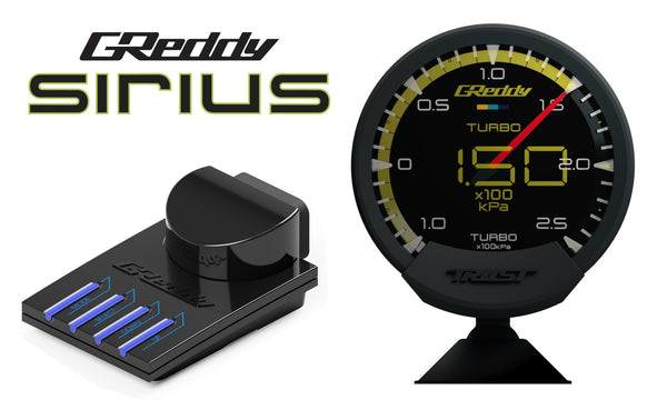 Greddy Sirius Control Unit - Required for Sirius Meter, Vision, & Unify sets