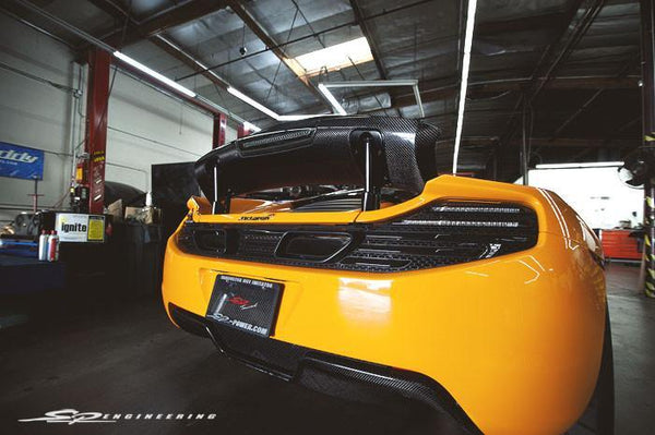 Titek Titanium Exhaust - McLaren MP4-12C
