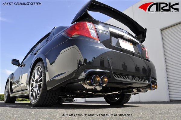 DT-S Exhaust - Subaru WRX/Sti Sedan 2011-14