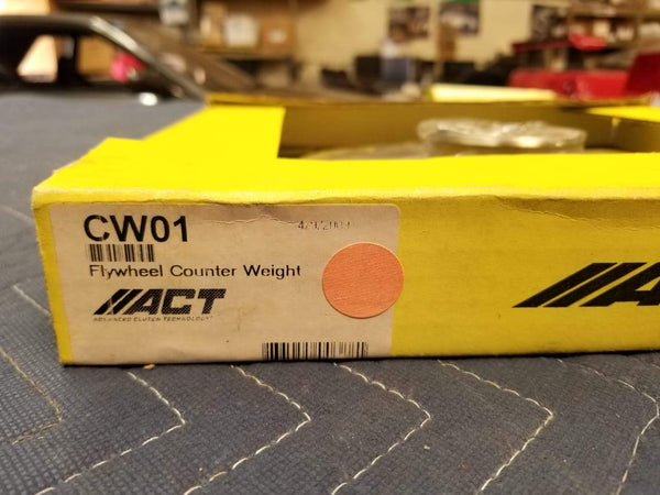 ACT CW01 Flywheel Counterweight Fits Mazda 86-88 RX-7