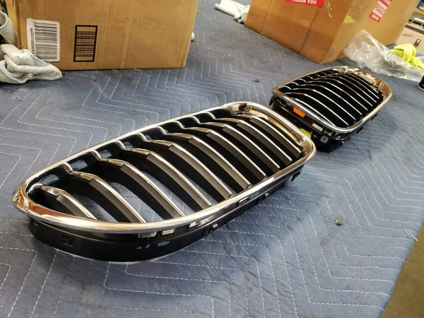 USED; 2012 2013 2014 BMW 6 Series Front Grilles OEM LEFT and RIGHT 5113 7 212 850