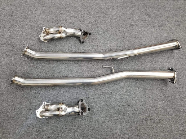 NISSAN 300ZX '90-'96 TURBO Z Z32 VG30DETT STAINLESS RACING DOWNPIPE EXHAUST