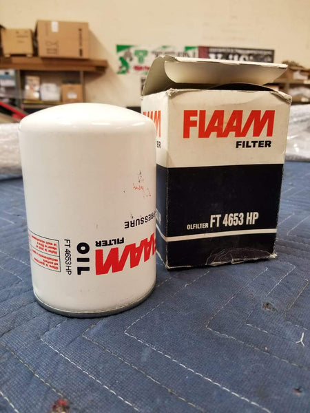 Oil Filter Lamborghini Diablo - Countach - LM002 - Jalpa / Fiaam FT 4653 HP Oil Filter
