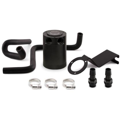 Mishimoto 2013+ Subaru BRZ / 2017+ Toyota 86 / 13-16 Scion FR-S Baffled Oil Catch Can Kit - Black