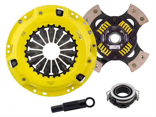 ACT Heavy Duty Pressure Plate (4 Pad Sprung) Clutch Kit-Nissan 240SX 89-90/95-98