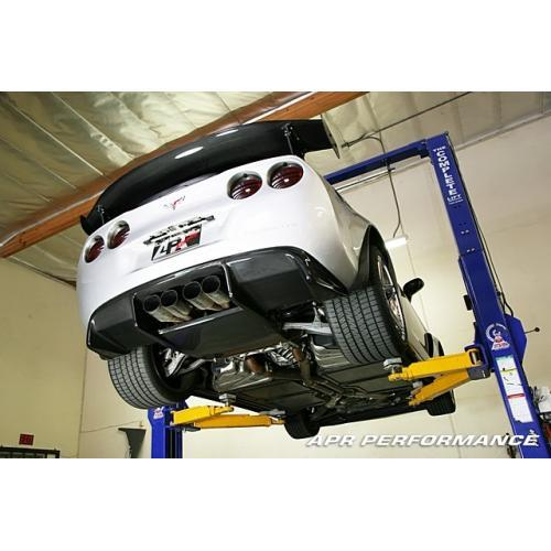 APR Performance - Chevrolet Corvette C6 / C6 Z06 Rear Diffuser 2005-Up (coil-over system only)