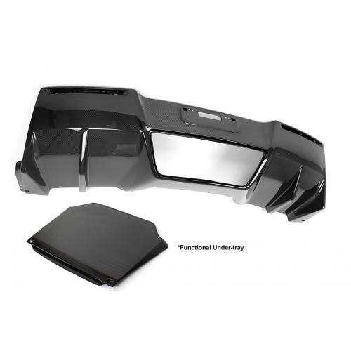 APR Performance - Chevrolet Corvette C7 Z06 Rear Diffuser 2014-Up (With Under-Tray)