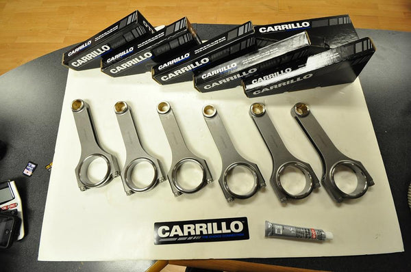 CP Carrillo Pro H-Beam Connecting Rods: 2009+ R35 GT-R / VR38DETT