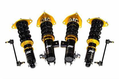 ISC Suspension N1 Basic Coilovers Track/Race Series - 15-17 Ford Mustang S550