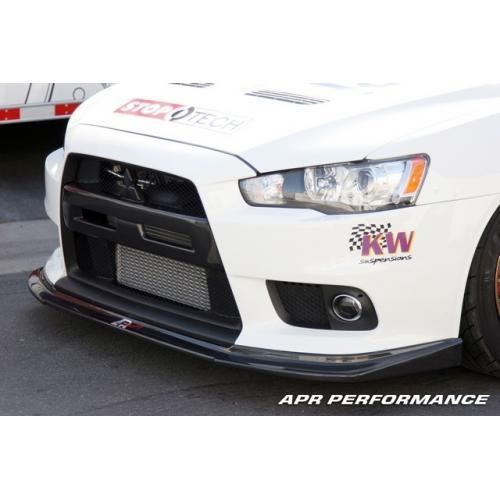 APR Performance - Mitsubishi Evolution X Front Air Dam 2008-Up