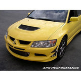 APR Performance - Mitsubishi Evolution 8 Front Bumper Canards 2003-2005