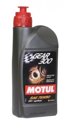 MOTUL Transmission Fluid GEAR 300 75W90 - 1L (1.05 qt)