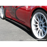 Carbon Fiber Side Rocker Extensions - Hyundai Genesis Coupe