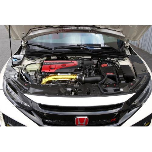 APR Performance - Honda Civic Type R 2017-Up  Carbon Fiber Radiator Cooling Shroud ( Center)