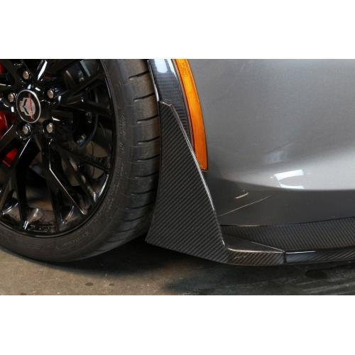 APR Performance - Chevrolet Corvette C7 Z06 Front Bumper Canards and Spats 2015-Up