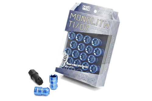 Project Kics Monolith T1/07 Lug Nut Set - M14 Thread Pitch
