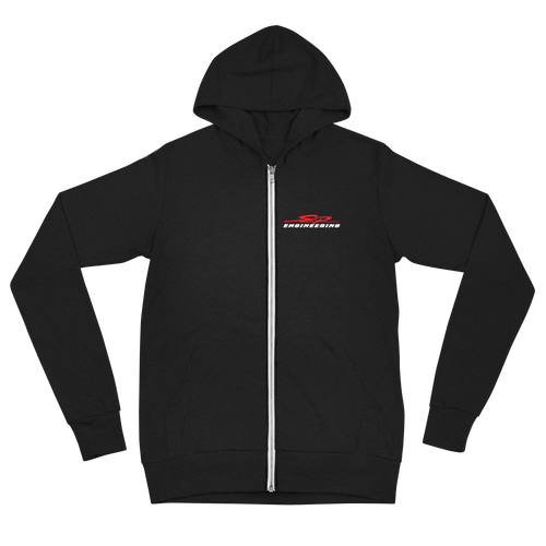 SP Engineering Unisex zip hoodie