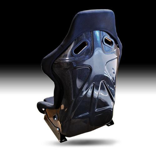 NRG Carbon Fiber Bucket Seat Large