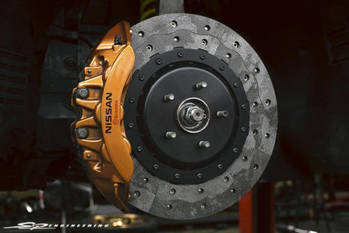 RPS Carbon Brake Kit: Nissan R35 GT-R