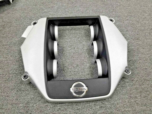 BLACK ORIGINAL NISSAN GT-R R35 ENGINE COVER FOR 2009-2019