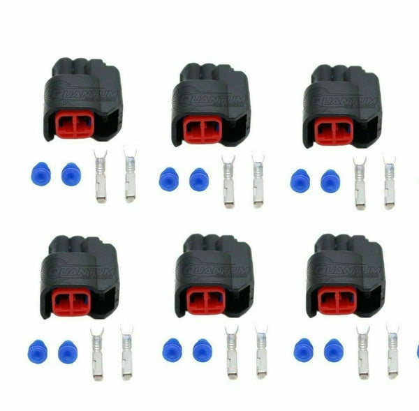 Injector Dynamics Terminal Connectors Any Harness Use ID Injectors x6
