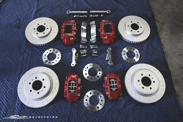 Alcon Brake Upgrade Kit - Ford Raptor & F150 Trucks (Front)