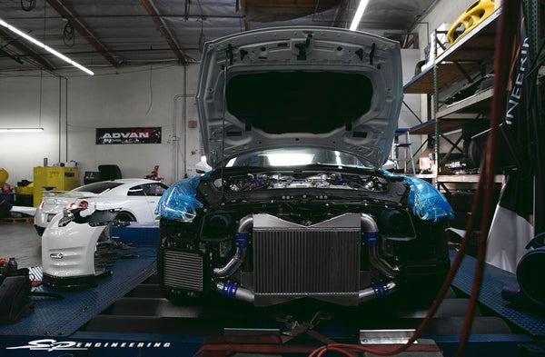SPE Spec Race Intercooler: Nissan R35 GT-R 2009+