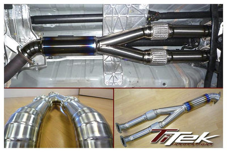 Cobb Tuning Catted Y Pipe: Nissan R35 GT-R