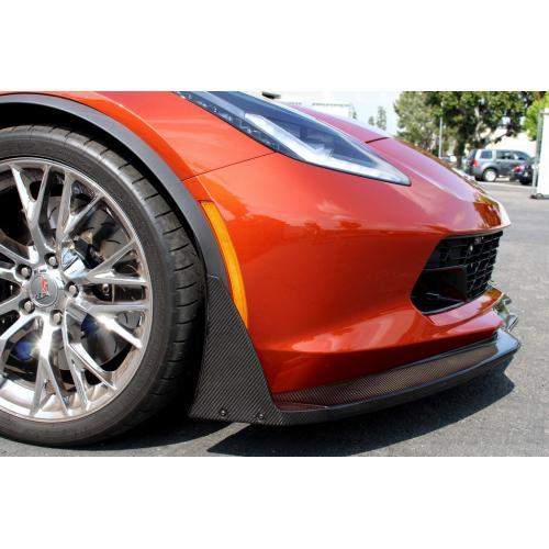 APR Performance - Corvette C7 Z06 Track Pack Front Air Dam / Splitter with Undertray 2015-Up