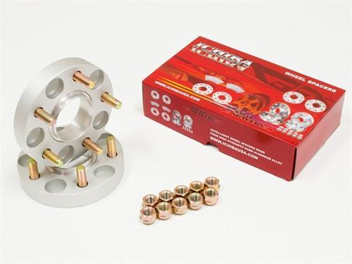 Ichiba USA Version 2 25mm Wheel Spacers - Honda & Acura Vehicles
